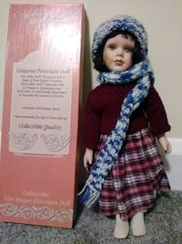 In time for Christmas. Porcelain doll 80 km