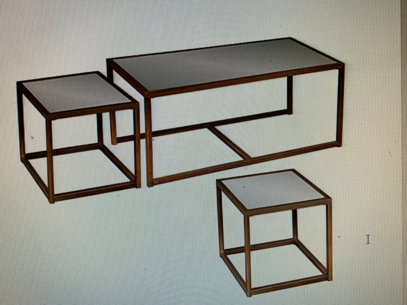 3 Piece Nested Cocktail / End Table Set c68df243-abc9-4a76-9ce7-7aa4517a6351