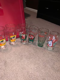 Coca-Cola Christmas glasses  Odenton, 21113
