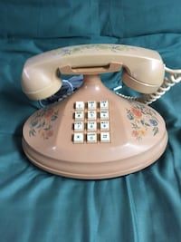 Vintage Push Button Telephone.
