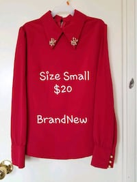 red and white Adidas pullover hoodie Vaughan, L4H 2L3
