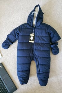 BRAND NEW snowsuit (mittens included) from Children's Place
