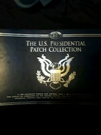 Binder w presidential patches  Nevada City, 95959