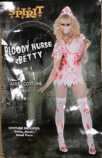 Halloween Nurse Costume. Size 4 to 8.  Wore once Mount Holly, 28120