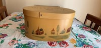 Wooden Decorated Country Box Suffolk, 23435