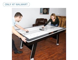 """80"""" NHL Air Powered Hockey Table and Table Tennis Conversion Top"""