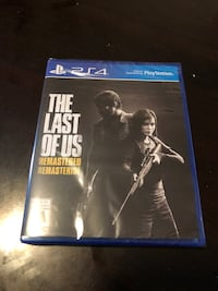 The last of us PS4 sealed