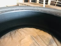 Pair of new winter tires, barely used. Barrie, L4M 6E1