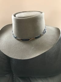 gray suede cowboy hat Mulberry, 46058