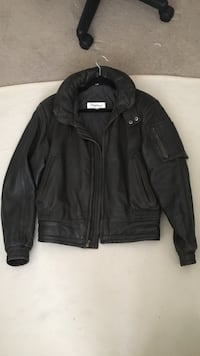 Men's small leather jacket