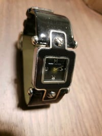Marc Jacobs Black Leather Watch