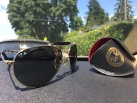 Black framed ray-ban sunglasses Richmond, V7E 5V2