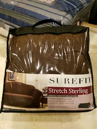 Surefit Stretch sterling sofa slipcover Surrey, V3V 3N8