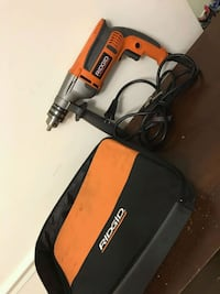 red and black Black & Decker corded power tool Reston, 20191