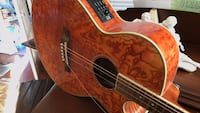 Ibanez acoustic/electric stunning six string guitar with the fabulous finish model number AS10EAM1202. West Palm Beach, 33407