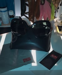 Ray Ban JACKIE OHH II in Black•Excellent Condition!