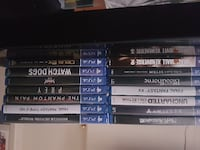 Ps4 games for negotiable price NORTHBAY