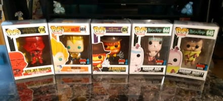 NYCC Exclusive Funko Pop! All NM/M In Protectors!!