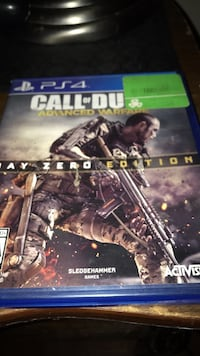 Advanced warfare ps4 game Winnipeg, R3J