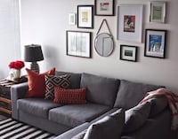 Sectional with ottoman (like new!!) Toronto, M4Y
