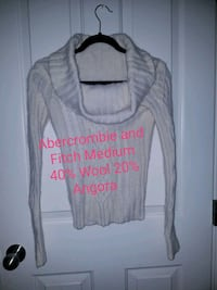 Abercrombie and Fitch wool angora sweater  Colorado Springs, 80918