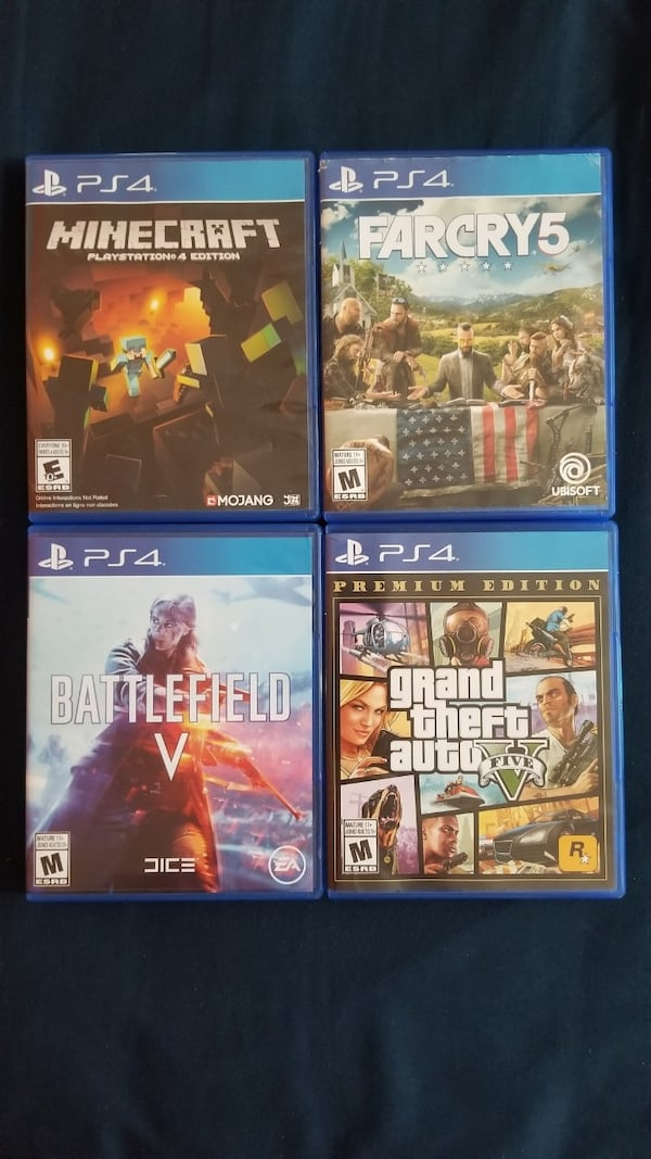 PS4 slim with 6 games  1c25c9a5-401c-4202-9ce7-c3fc902fd7ae