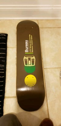 New Skateboard deck with grip and Destructo Trucks