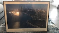 Chicago skyline picture and frame  Aurora, 60504