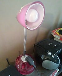 pink and gray study lamp Lincoln, 68502