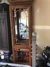 Antique glass shelving - missing two pieces of glass - easy fix   Gainesville, 20155