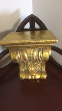 Gold sconce