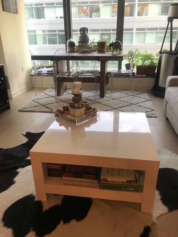 West elm parsons coffee table