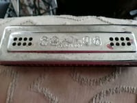 """Harmonica.Made in Germany. One side has a """"D""""  Hannibal, 13074"""