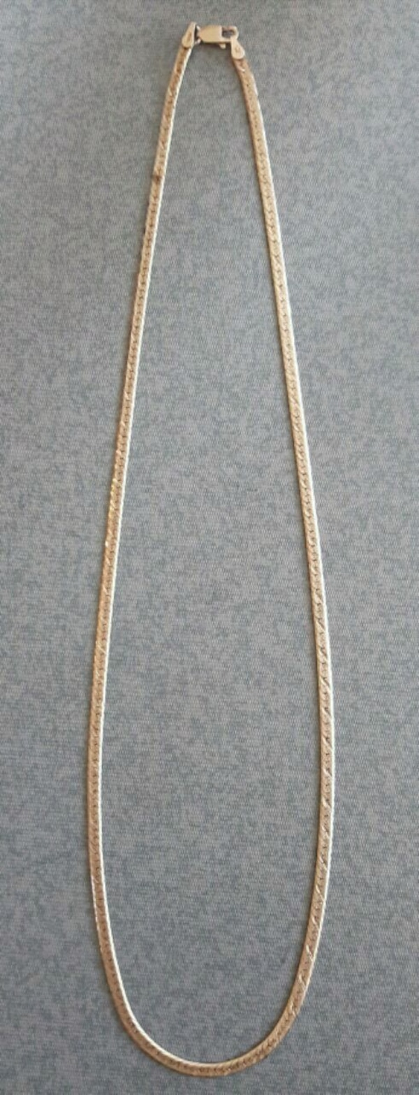 Women's Silver Necklace Italy