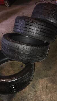 4 Continental All-Season 225/45R18 Runflat Tires Brampton, L6R 1E5