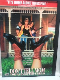 Don't Tell Mom the Babysitter's Dead dvd
