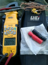 Uei test instruments dl429 clamp on meter Anchorage, 99503