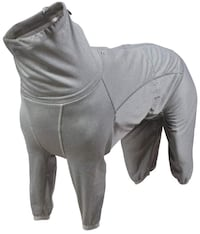 "New Unused HU932661 Hurtta Dog Body Warmer, Body Suit, Recovery Suit, Carbon Gray 18"" Toronto, M5M 1Y3"