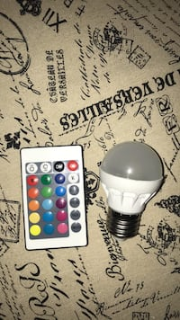 Colour changing lightbulb  3120 km