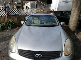 2004 Infiniti G35 Sport Coupe Leather Perf. Tire &