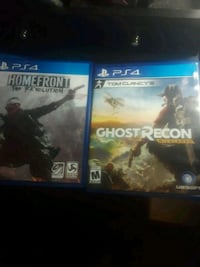 2 ps4 games Ruskin, 33570