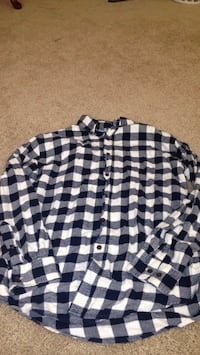 Plaid Long Sleeve Button Up Hagerstown, 21740