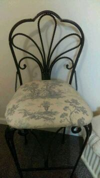 white and black floral padded chairs set of 2 Cookeville, 38501