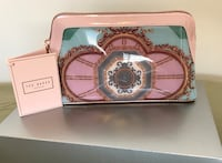 Ted Baker Versailles Cosmetic Bag, Teal Maple Ridge, V2W 0H5