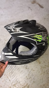 Monster dirt bike helmet Arlington, 22202