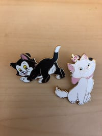 Disney cat pins (2) Littlestown, 17340