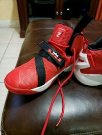 pair of red-and-black Adidas basketball shoes North Miami Beach, 33162