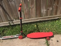 red and black kick scooter Houston, 77096