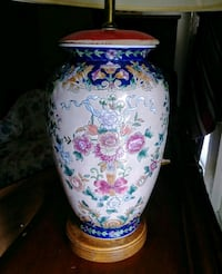 Vintage Japenese Porcelain Vase Table Lamp Harker Heights, 76548