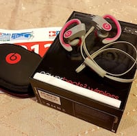 Pink and Grey Beats by Dre